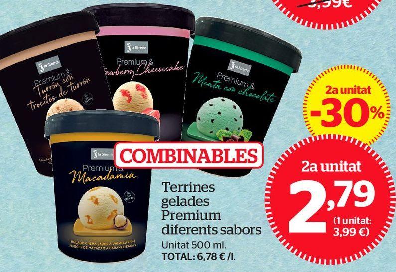 Oferta de Tarrina de helado por 2,79€