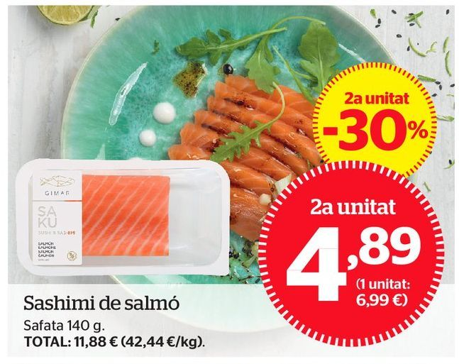 Oferta de Platos preparados por 4,89€