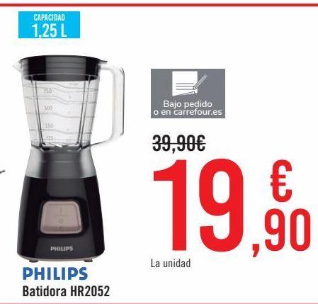 Oferta de PHILIPS Batidora HR2052 por 19,9€