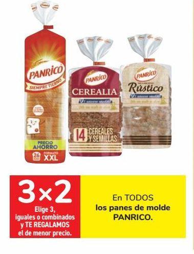 Oferta de En TODOS los panes de molde PANRICO  por