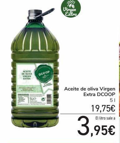 Oferta de Aceite de oliva Virgen Extra DCOOP por 19,75€