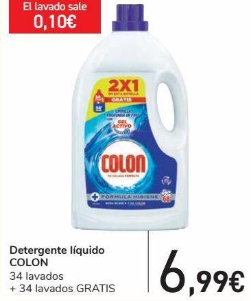 Oferta de Detergente líquido COLON  por 6,99€