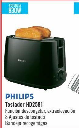 Oferta de PHILIPS Tostador HD2581  por 19,9€