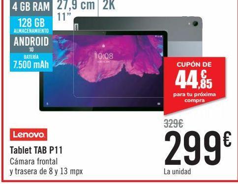 Oferta de LENOVO Tablet P11  por 299€