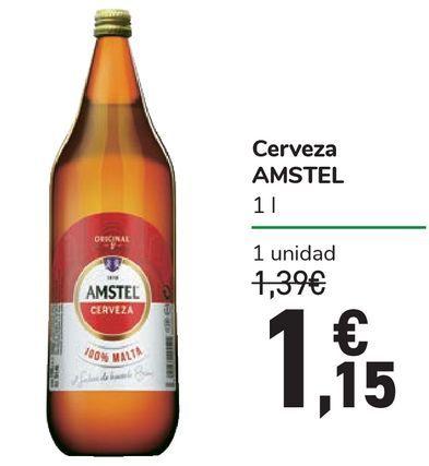 Oferta de Cerveza AMSTEL por 1,15€
