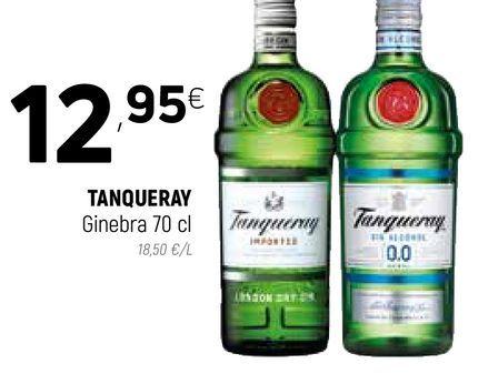 Oferta de Ginebra Tanqueray por 12,95€