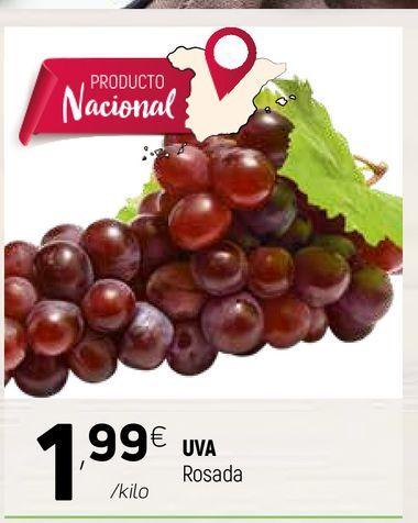 Oferta de Uvas rosada por 1,99€