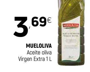 Oferta de Aceite de oliva virgen extra Mueloliva por 3,69€