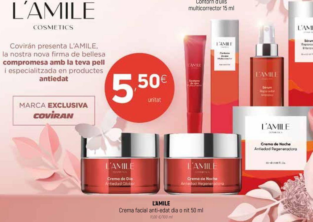 Oferta de Crema facial L'amile  por 5,5€