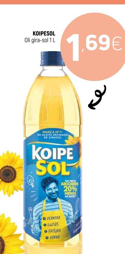 Oferta de Aceite de girasol koipesol por 1,69€