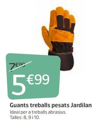 Oferta de Guantes de jardín por 5,99€