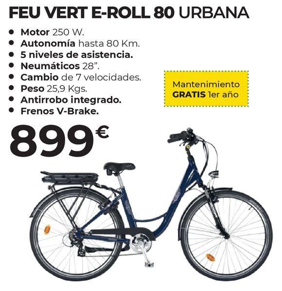 Oferta de Bicicleta eléctrica Feuvert por 899€