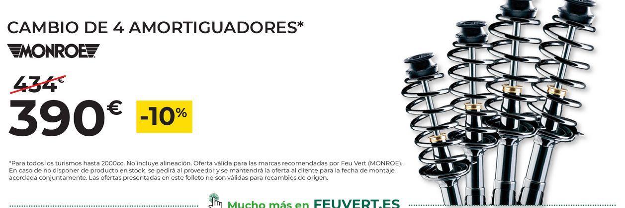 Oferta de Amortiguadores Monroe por 390€