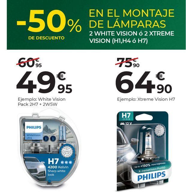 Oferta de Faros Philips por 50€