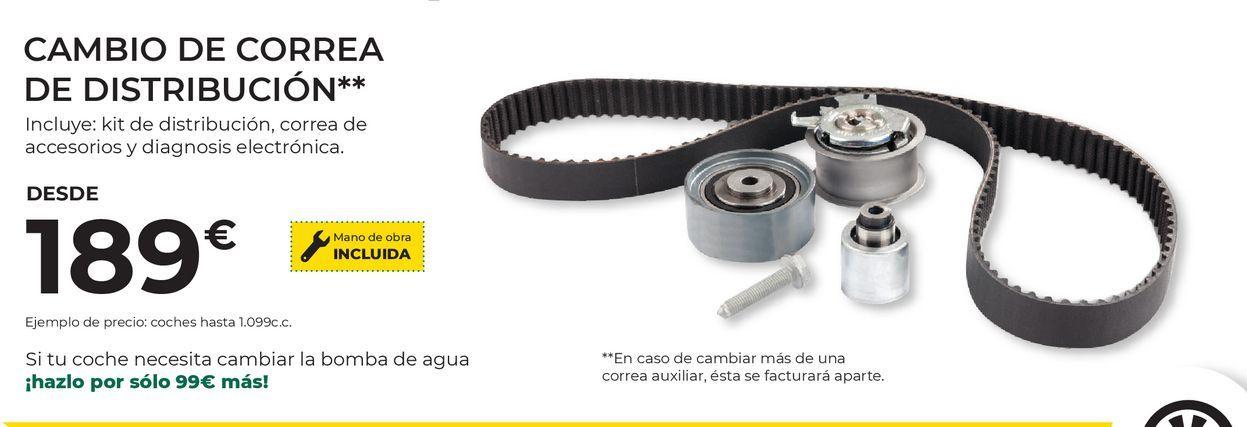 Oferta de Correa de distribución por 189€