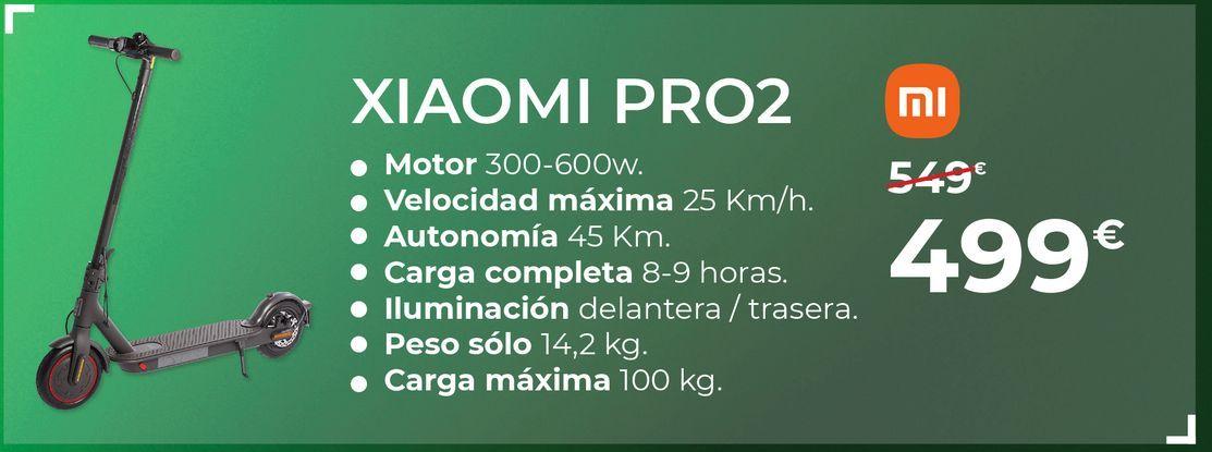 Oferta de Patinete eléctrico Xiaomi por 499€