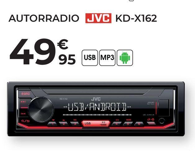 Oferta de Radio cd JVC por 49,95€