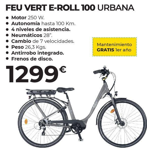 Oferta de Bicicleta eléctrica Feuvert por 1299€