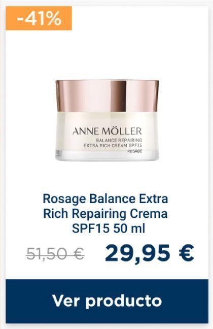 Oferta de Crema regeneradora por 29,95€