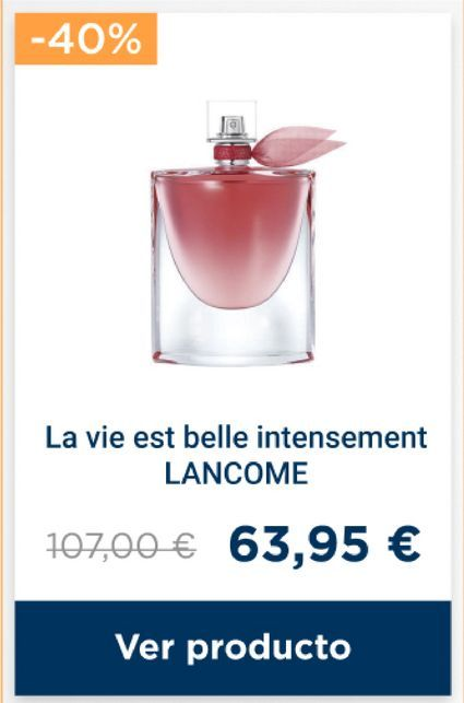 Oferta de Perfumes Lancôme por 63,95€