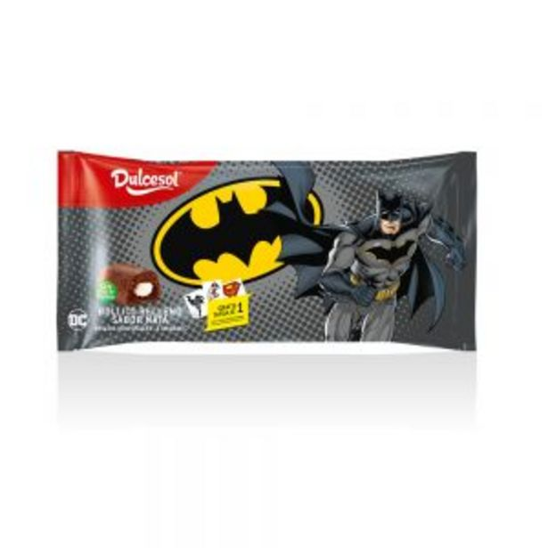 Oferta de Pastelitos Batman 4u por 1,25€