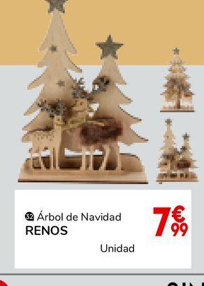 Oferta de FIGURA MADERA RENOS /ARBOL SURTIDO por 7,99€
