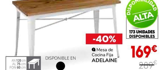 Oferta de Mesa de cocina por 169€