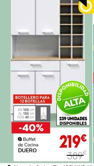 Oferta de Buffet de Cocina 5P1C DUERO por 219€