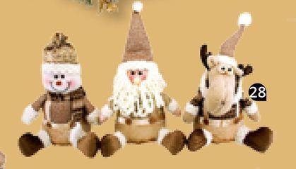 Oferta de Muñeco de Navidad Glamorous Surtido por 12,99€