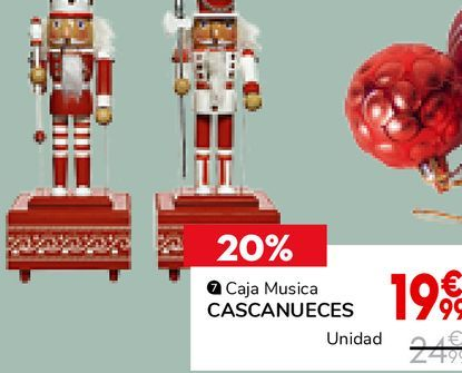 Oferta de Caja musica CASCANUECES  por 19,99€