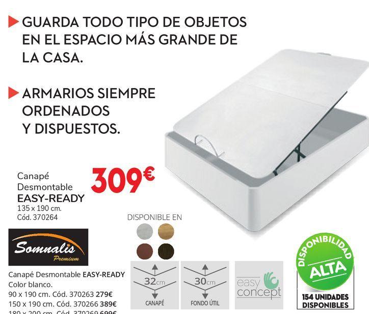 Oferta de Canapés demontable EASY-READY  por 309€