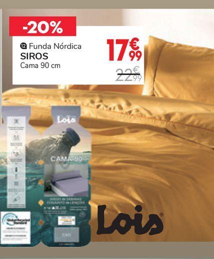 Oferta de Funda nórdica SIROS por 17,99€
