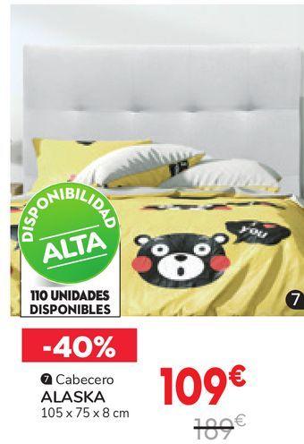 Oferta de Cabecero ALASKA  por 109€