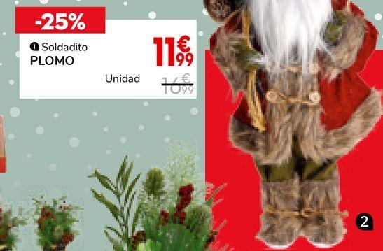 Oferta de Santa claus con regalo  por 14,99€