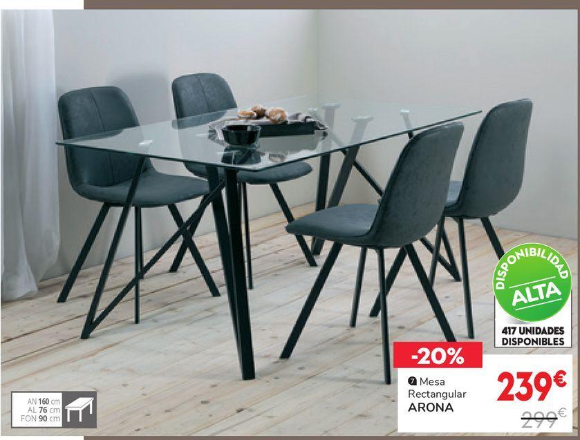 Oferta de Mesa de Comedor ARONA por 239€