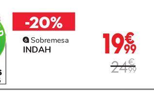 Oferta de Lámparas sobremesa INDAH por 19,99€
