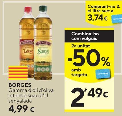 Oferta de Aceite de oliva Borges por 4,99€