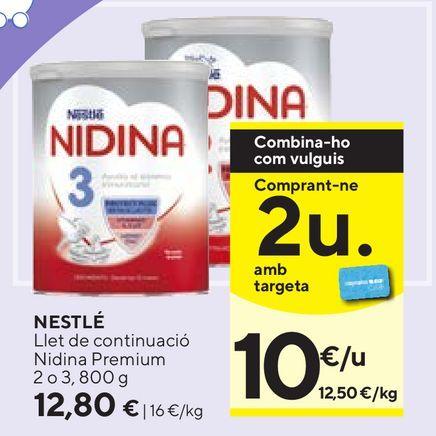Oferta de Leche en polvo Nestlé por 12,8€
