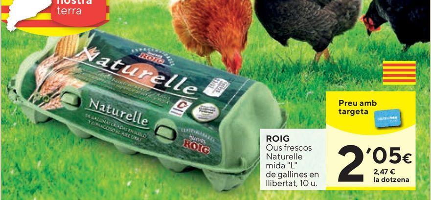 Oferta de Huevos Roig por 2,05€