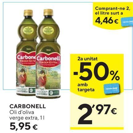 Oferta de Aceite de oliva Carbonell por 5,95€