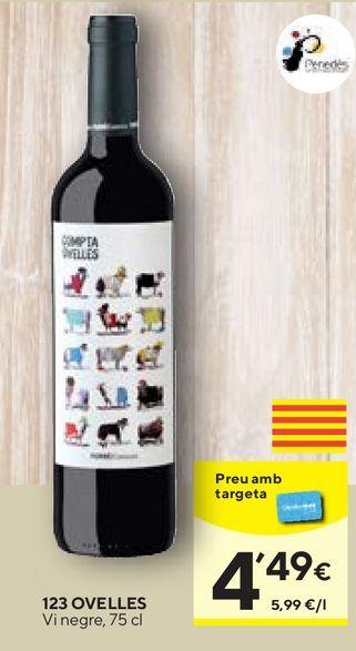 Oferta de Vino tinto por 4,49€