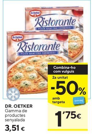 Oferta de Pizza Ristorante por 3,51€