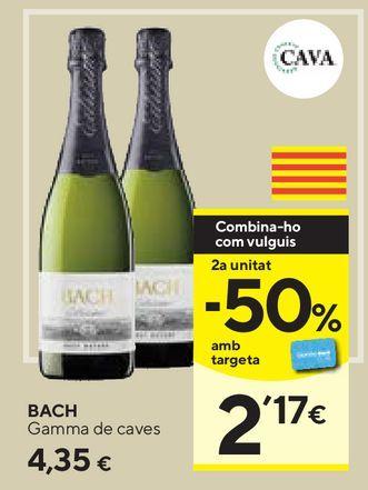 Oferta de Cava Bach por 4,35€