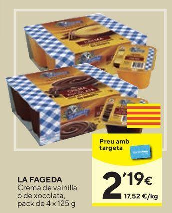 Oferta de Postres lácteos La Fageda por 2,19€