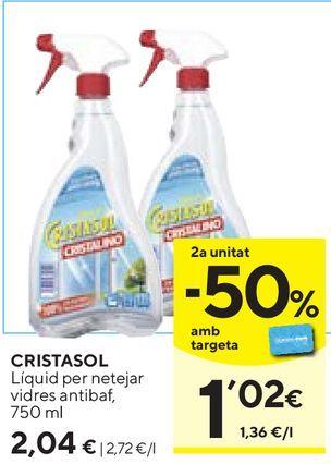 Oferta de Limpiadores Cristasol por 2,04€