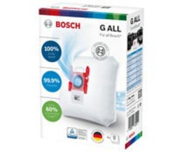 Oferta de Pack de 4 bolsas de aspirador BOSCH BBZ41F G ALL. por 11,9€