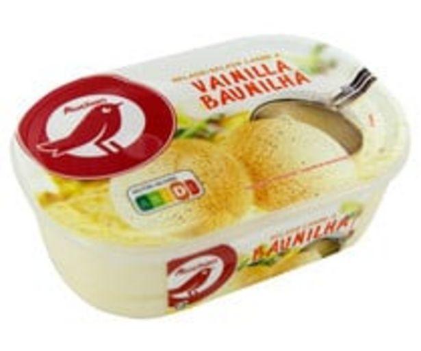 Oferta de Tarrina de helado con sabor a vainilla PRODUCTO ALCAMPO 1 l. por 1,34€