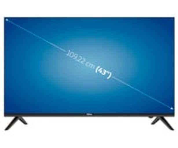 """Oferta de Televisión 109,22 cm (43"""") LED QILIVE 43UA211B 4K, SMART TV, WIFI, TDT T2, USB reproductor, 3HDMI, 60HZ. por 369€"""