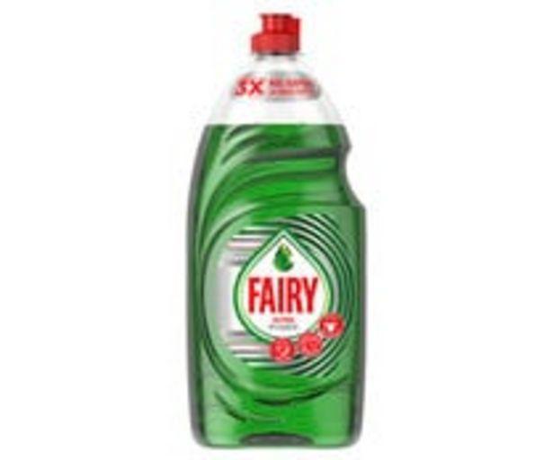 Oferta de Detergente lavavajillas a mano FAIRY ULTRA PODER 1,07 l. por 3,99€