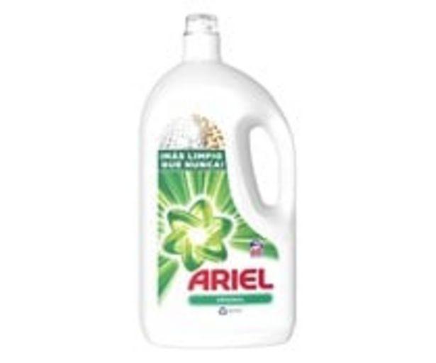 Oferta de Detergente líquido para ropa ARIEL ORIGINAL 68 lav. 3,75 l. por 14,59€